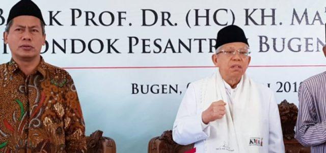 KH Ma'ruf Amin: Ulama Miliki Tanggungjawab Jaga Agama dan Negara