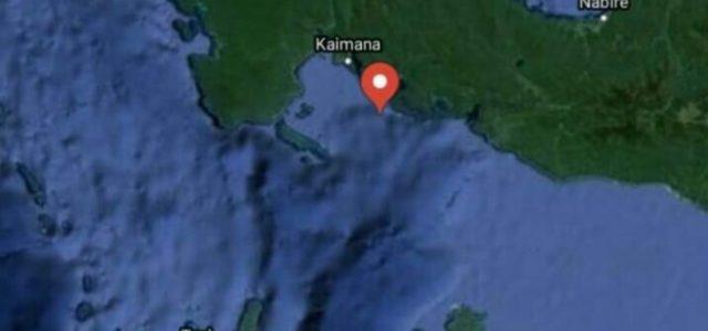 Dua Kali Gempa Bumi Guncang Kaimana Papua Barat