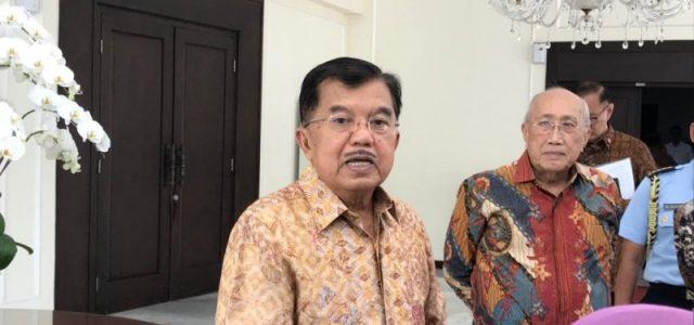 Jusuf Kalla Sebut Posisi Politik Kepala Daerah dan ASN Berbeda