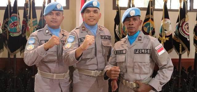Polda Papua Barat Kirim 3 Anggota Dalam Misi Perdamaiaan PBB