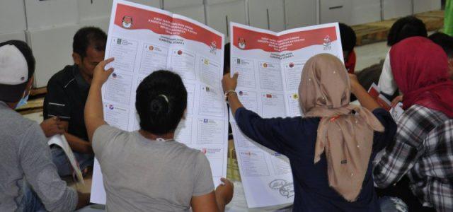 Lipat Surat Suara, KPU Medan Libatkan 250 Pekerja