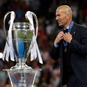 Zidane Resmi Pelatih Real Madrid