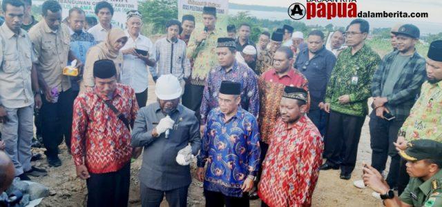 Pesan Gubernur Akhir 2019 Pembangunan Kantor MUI Papua Barat Sudah Selesai
