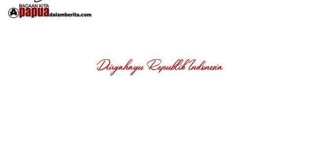 OPINI: Indonesia Tanah Air Beta *(rustam madubun)