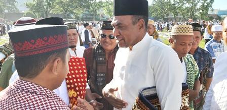 Wagub Papua Barat Shalat Idul Adha di Lapangan Borasi Menakowari