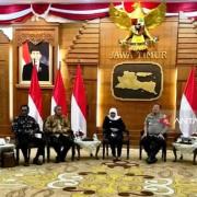 Pdt Papua-Papua Barat Temui Gubernur Jatim di Grahadi, Polisi Tangani 2 Kasus Berbeda Terkait Asrama Papua