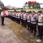 Paska Rusuh Fakfak,  350 Anggota TNI-Polri BKO Polda Papua Tiba di Fakfak