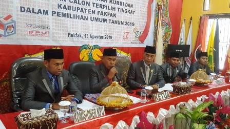 KPU Fakfak Tetapkan 11 Partai Politik Peraih 20 Kursi DPRD, Golkar Terbanyak