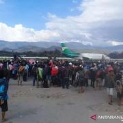 Kemenhub Siapkan Kapal dan Pesawat Evakuasi Pengungsi Kerusuhan Wamena