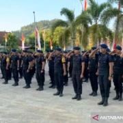 Polda Sulawesi Barat Kirim Personel Brimob ke Papua