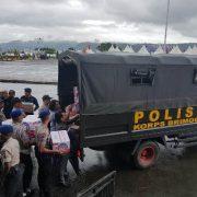 Polda Maluku Distribusikan Bantuan Bagi Korban Gempa