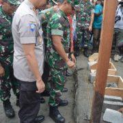 Karya Bhakti  Kodam XVIII/Kasuari  Sambut HUT TNI 2019