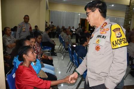 Mahasiswa Papua dan Papua Barat Nyaman Kuliah di Ambon, Juga Beri Apresiasi pada Kapolda Maluku