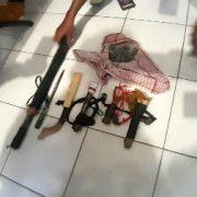 Operasi Patuh di Amban Manokwari Jaring Pengendara Bawa Senjata Tajam