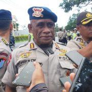 Kasat Brimob Polda Papua Barat, Peluru yang Dipakai Brimob BKO adalah Karet dan Hampa