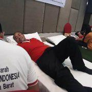 Swiss Belhotel Manokwari Donor 75 Kantong Darah kepada PMI