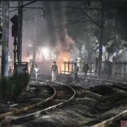 Demo DPR, Massa Lakukan Pembakaran di Sekitar Palmerah