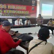 Polres Sorong Kota Tahan Lima Pelaku Pembobol Lapas Peristiwa 19 Agustus