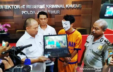 """""""Youtube"""" Jadi Tersangka Baru Kasus Asrama Mahasiswa Papua"""