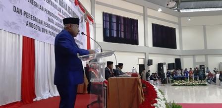 Pesan Gubernur pada Rapat Paripurna Istimewa Pelantikan Anggota DPR Papua Barat