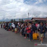 93 Pengungsi dari Kabupaten Jayapura Kembali ke Wamena