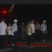 Presiden Joko Widodo Bermalam di Kaimana, Papua Barat