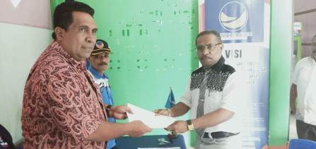 Incar Dukungan NasDem di Pilkada Fakfak, Wakil Ketua MRPB Siap Mendaftar
