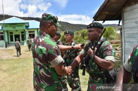 Kodam XVIII/Kasuari Papua Barat Diperkuat