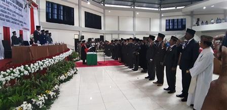 Partai Golkar Pimpin Rapat Paripurna Istimewa Pelantikan Anggota DPR Papua Barat 2019-2024