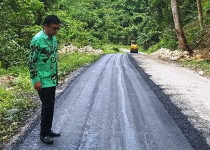 Dinas PUPR Fakfak Tangani Kerusakan Ruas Jalan Provinsi Papua Barat