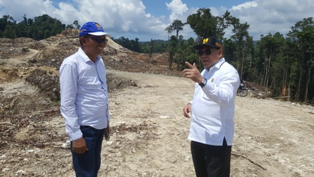 Pemetaan Lahan Terminal Bandara Siboru Mulai Dikerjakan, Serap Dana APBD 2019 Senilai Rp. 48 M