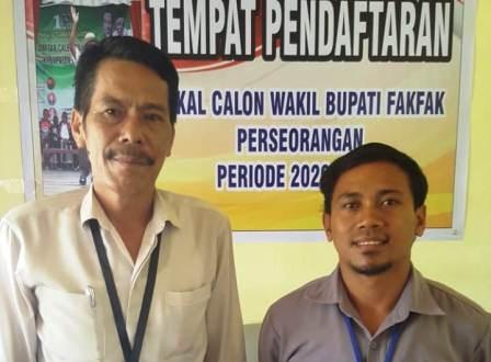 Bakal Calon Bupati Fakfak Donatus Nimbitkendik Diincar Tiga Nama Sebagai Pasangan Wakil Bupati
