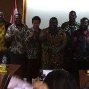 Ketua Pansus Papua dan Komite 1 DPD RI Terima Tim Asosiasi Bupati Pemekaran DOB Papua Tengah