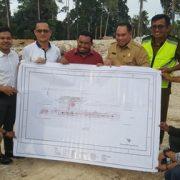 Tiga Legislator Papua Barat, Tinjau Ruas Jalan Siboru dan Pembangunan Terminal Bandara Siboru