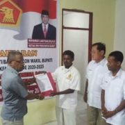 Spontanitas Massa Pendukung Antara Wakil Ketua MRPB Daftar Balon Wabup di Gerindra