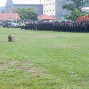 1 Desember, TNI – Polri Apel Pagi Gabungan di Lapangan Borasi, Manokwari Aman