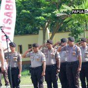 Selain 100 Pamen, Kapolda Papua Barat Juga Menaikan Pangkat 60 Anggota Berpangkat Bintara