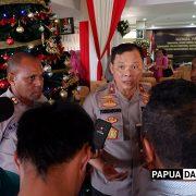 Dipenghujung Tahun 2019 Kapolda Naikan Pangkat 100 Anggota Polda Papua Barat