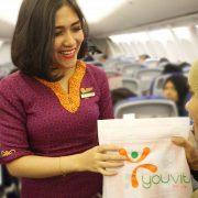 Kejutan Natal di Penerbangan Sriwijaya Air