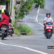 Sempat Dipalang, Imbas Kecelakaan Lalulintas  di Swapen Perkebunan Manokwari