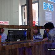 Permudah Layanan Mutasi Kendaraan, Dit Lantas Polda Papua Barat Gunakan Aplikasi e-mutasi