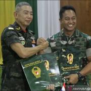 TNI AD Dan AD Thailand Tanda Tangan Pengaturan Kerja Sama ke Empat