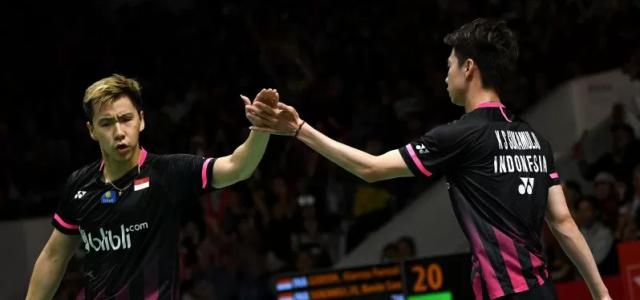 Final Indonesia Masters Hari Ini, Indonesia Pastikan Gelar Ganda Putra