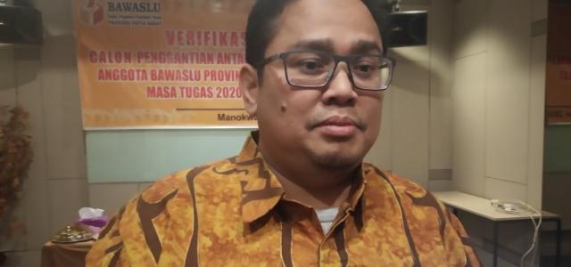 Satu Komisioner Bawaslu Papua Barat diganti
