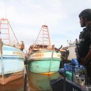 Dirjen KKP Tangkap Tiga Kapal Ikan Vietnam di Laut Natuna Utara