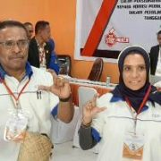 Ultah Ke 50, Wakil Ketua MRPB Gandeng Putri Mantan Gubernur Irian Jaya Datangi KPU Fakfak