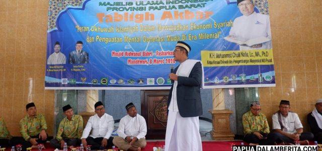 KH Muhammad Cholil Ajak Umat Muslim Manokwari Pahami Perbedaan, Jaga Kedamaain