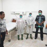 Bupati Mohammad Uswanas Tinjau Kesiapan RSUD Fakfak Hadapi Covid -19