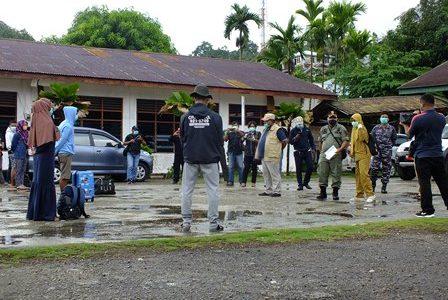 Cegah Covid -19. 19 Penumpang Speed Boat Kiti Kiti DPRD Fakfak Jalani Karantina Khusus