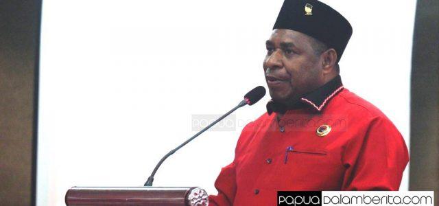 Demas Mandacan Bakar Semangat Kader PDI Perjuangan Papua Barat Menuju Pilkada 2020